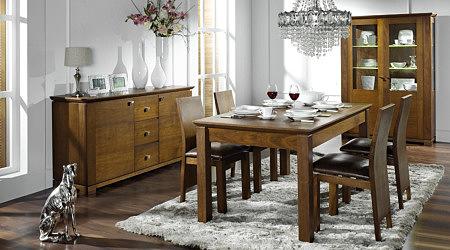 Casetti stół klasyczny okleina orzech amerykański