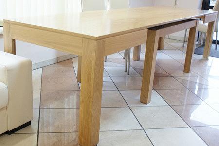 cezar duży stół bukowy rozkładany
