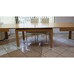 cezar stół bukowy w okleinie