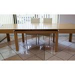 cezar stół okleina bukowa stół rozkładany