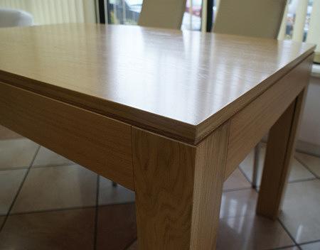 cezar stół okleinowany okleina buk