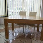 cezar stół w dębowej z elementami litego drewna