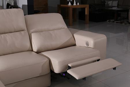 comfort sofa z elektrycznie sterowaną funkcją relax