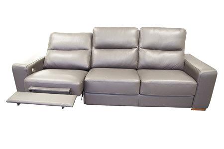 comfort sofa z wysuwanym podnóżkiem relaks
