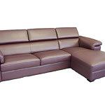 dion fioletowa sofa narożnik skórzana