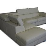 dion nowoczesna sofa narożnik z zagłówkami