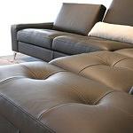 elegancka sofa narożnik