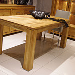 faro stół wykonany z litego dębu sękatego