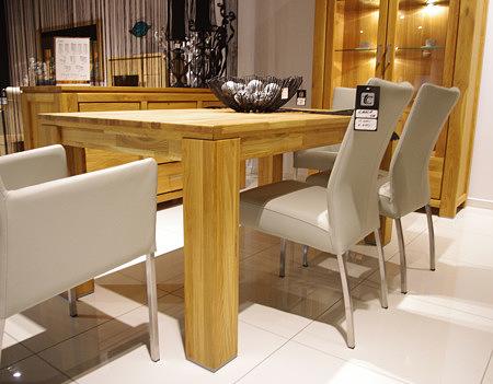 faro stół z drewna dębowego
