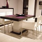 Fiesta krzesła metalowe nogi stół na jednej nodze