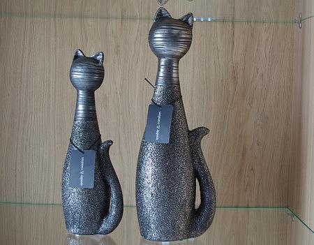 figurka ozdobna koty nowoczesna forma
