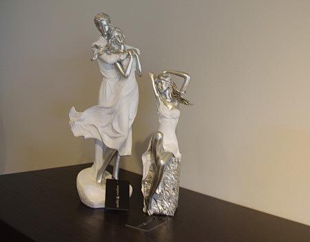 figurki ozdobne para kobieta i mężczyzna