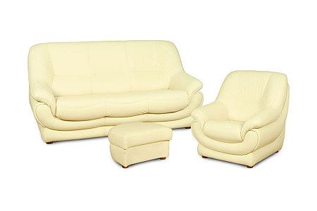 Fiord komplet wypoczynkowy sofa fotel pufa