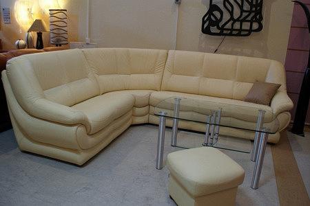 Fiord sofa narożnik skórzany