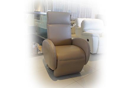foteliki fotel skórzany z funkcją relax