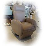 Foteliki fotel ze skóry z funkcją relax