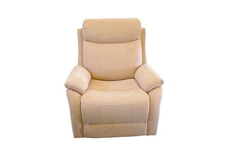 fresco fotel skórzany z funkcją relax
