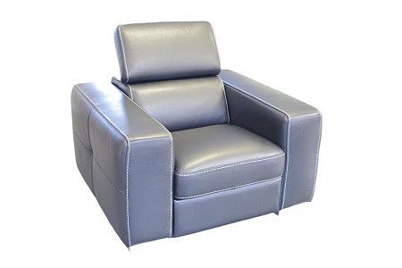 Genesis fotel skórzany z funkcją relax