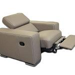Genesis fotel skórzany z relaksem