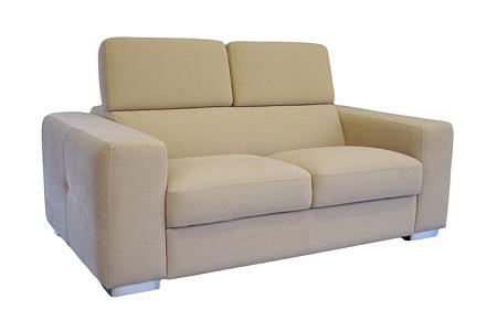 genesis sofa dwuosobowa obicie carabu beżowa
