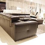 Genesis sofa narożnik wypoczynek z metalowymi nogami