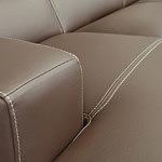 Genesis sofa szycie grubą nicią