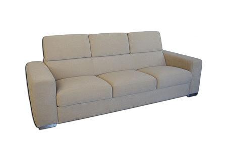 genesis sofa trzyosobowa beżowa carabu