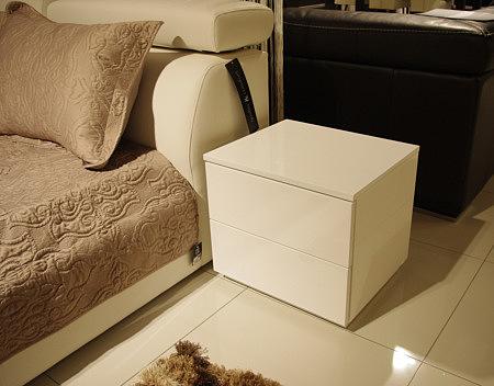 Genesis szafka nocna biała