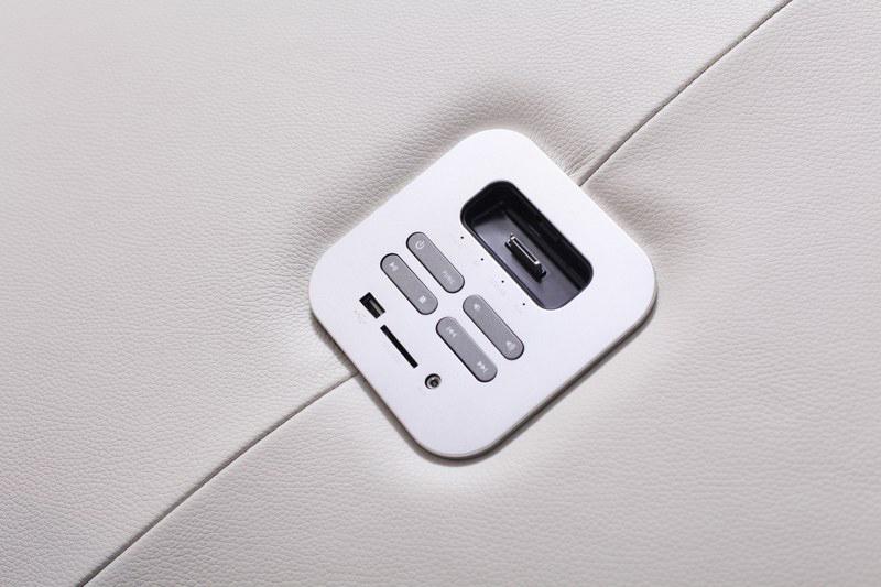 genua panel sterowania systemu audio w sofie