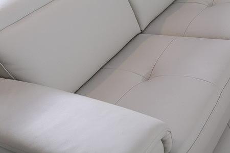 Genua siedzisko sofy pikowana skóra