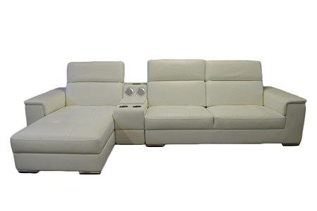genua sofa narożnik system audio biała