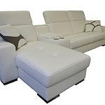 Genua sofa skórzana z systemem audio