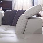genua sofa z regulowanym zagłówkiem