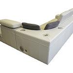 Genua sofa z sytemem audio w zagłówkach