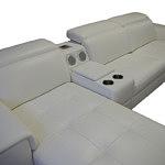 Genua sofa z wbudowanym barkiem
