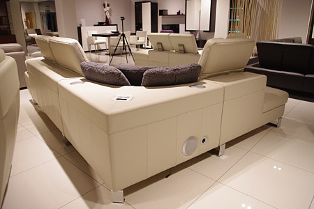 goya sofa z systemem audio