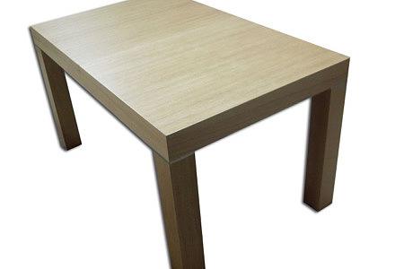kalifornia stół drewniany okleina dąb