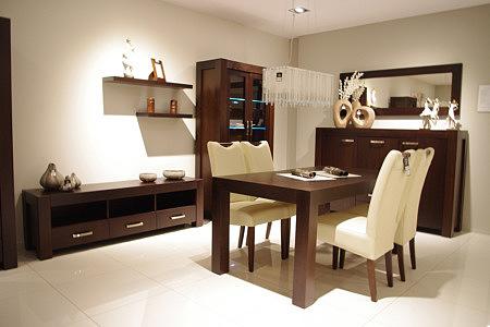 kanada duży stół z drewna dębowego