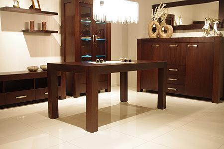 kanada solidny stół masywny z drewna dębowego