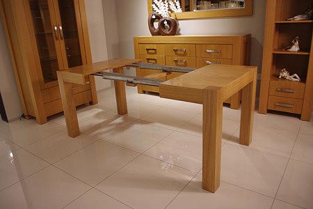 kanada stół dębowy nogi lite drewno