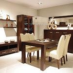 Kcomfort komplet krzeseł do salonu
