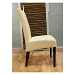 kcomfort krzesło dębowe tapicerowane skórzane