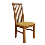 Kmilano klasyczne krzesło drewniane do jadalni