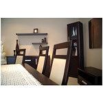 Ksara krzesła do salonu skórzane oparcia