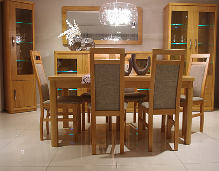 ksara krzesła drewniane bukowe beżowe oparcie