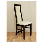 kvenus krzesło skórzane drewniane do salonu