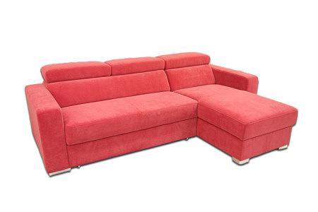 Lari czerwony narożnik sofa do salonu