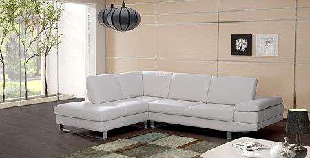 lexus nowoczesny narożnik sofa skórzana biała