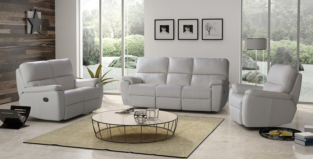 Modernistyczne MARCO - sofa z funkcją relax EM61
