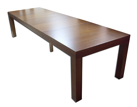 mezzo duży stół rozkładany okleina orzech
